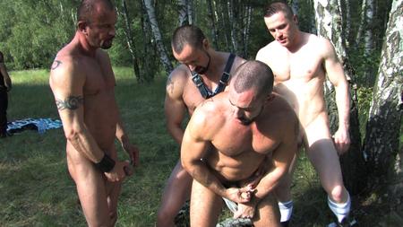filthy gay guys outdoor fuck